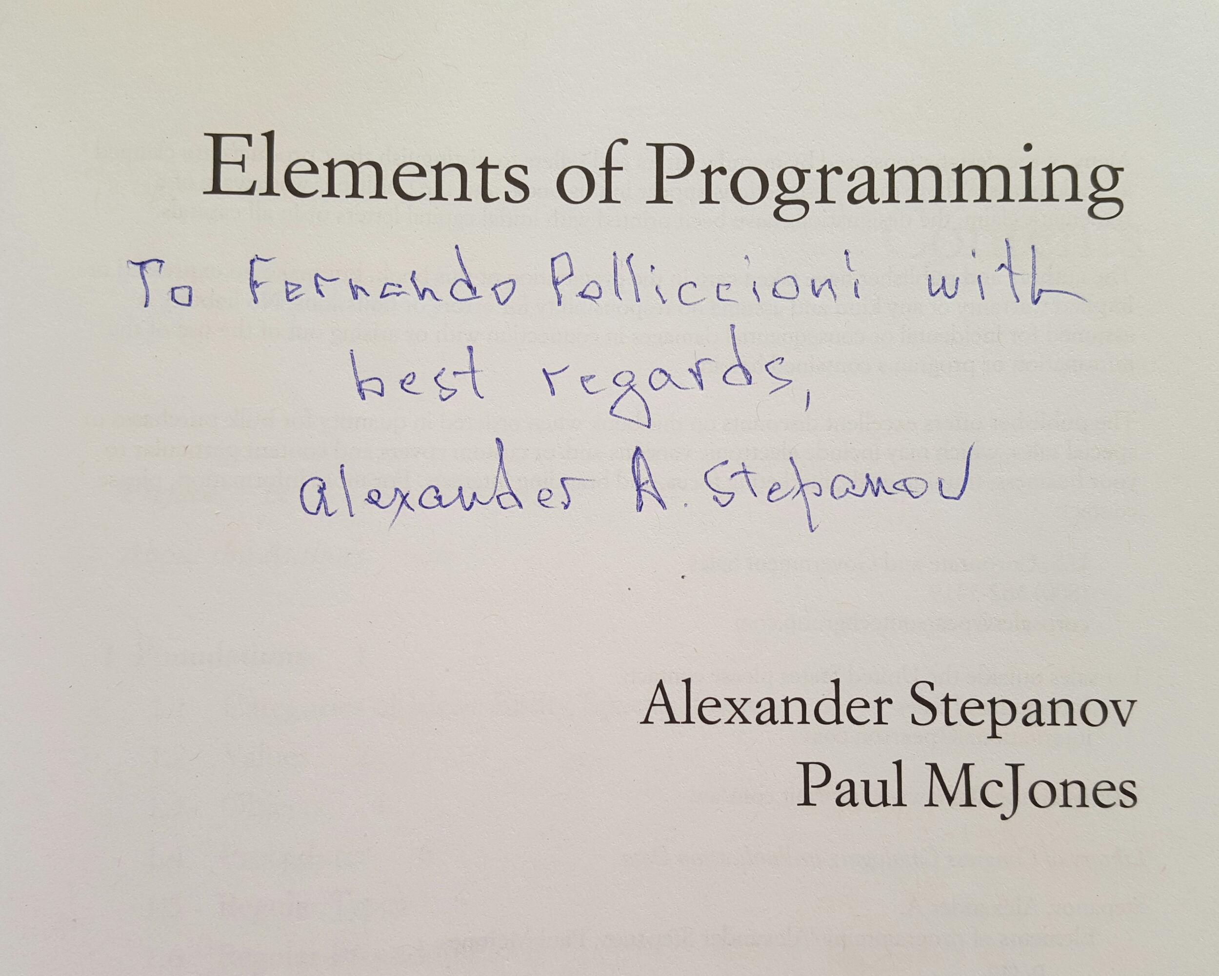 Alex autograph EoP