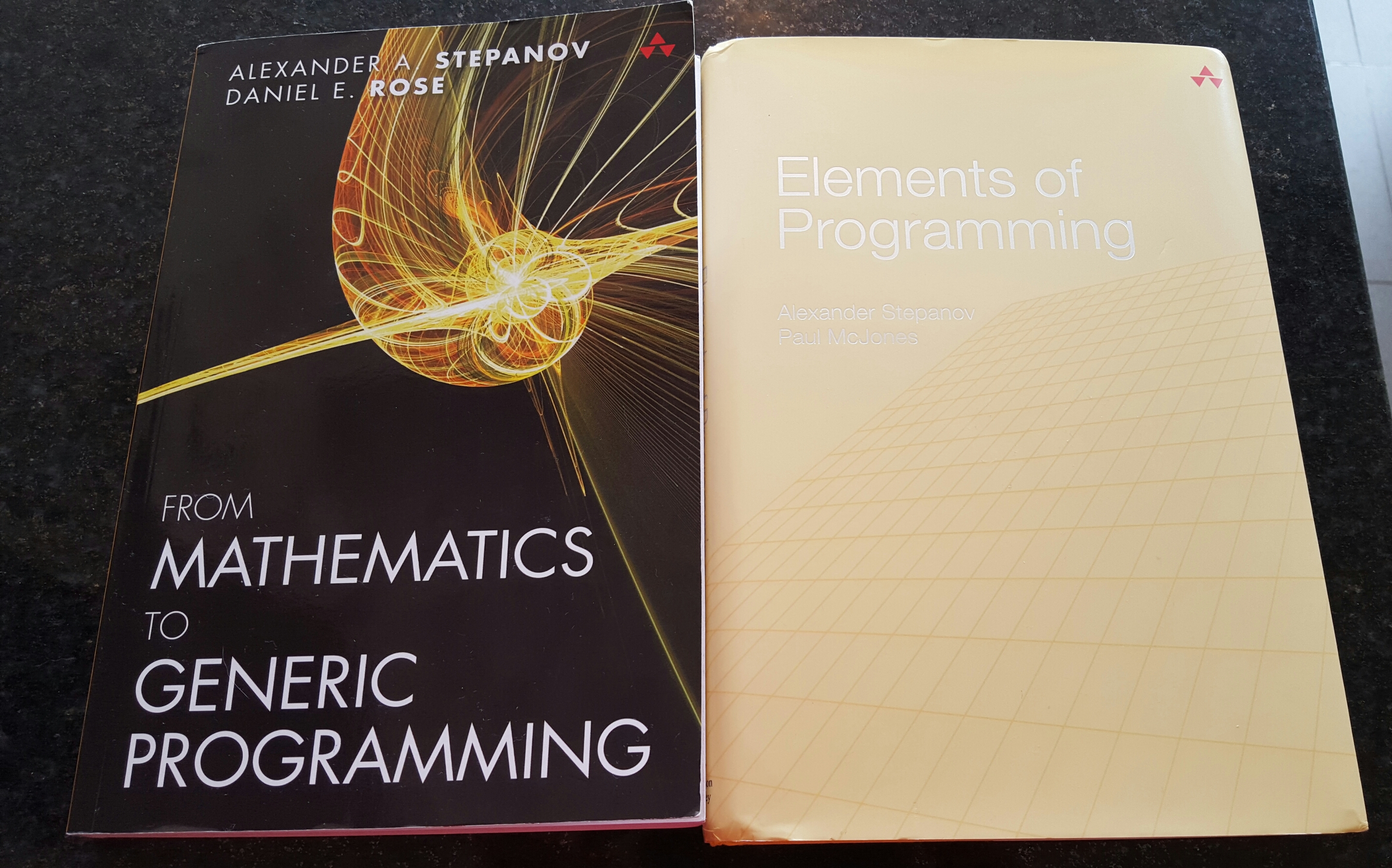 Elements of Programming and From Mathematics to Generic Programming